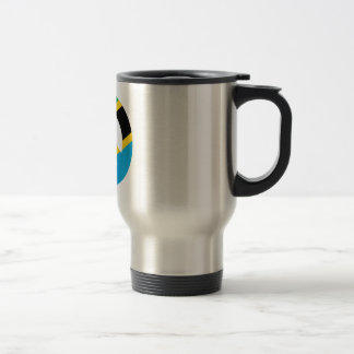 Tanzanian Peace Symbol Travel Mug