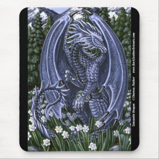 Tanzanite Dragon Mousepad