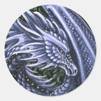 Tanzanite Dragon Sticker