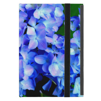Tanzanite  Hydrangeas Cases For iPad Mini