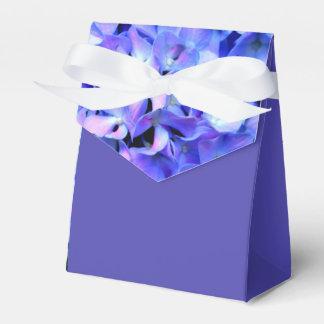 Tanzanite  Hydrangeas Favor Box
