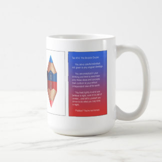 Tao #14- The Bi-color Double Point Coffee Mug