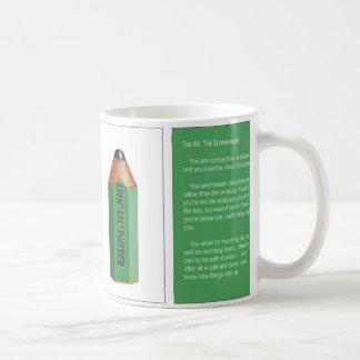 Tao #6 -The Scorekeeper Coffee Mug