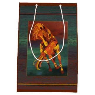 Tao of Fire Running Horse Gift Bag by Barbara Rush