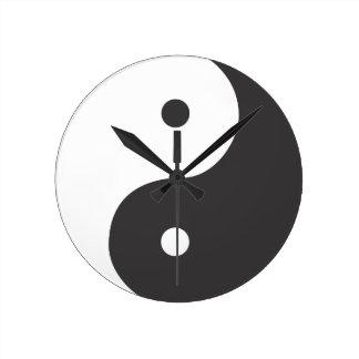 Tao Round Clock