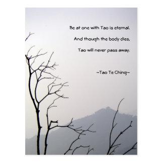 Tao Te Ching No.1/ Postcard
