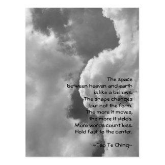 Tao Te Ching No.4/ Postcard
