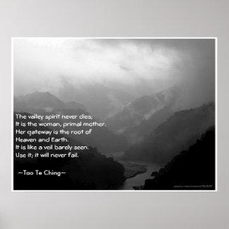 Tao Te Ching No.6/ Poster