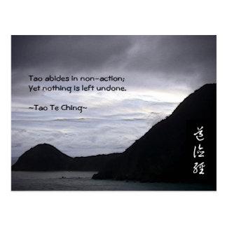 Tao Te Ching No.7 Postcard