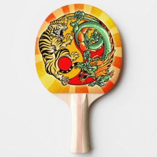 Tao Tiger and Dragon Ping Pong Paddle