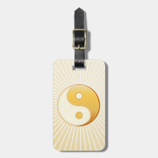 Taoism Symbol Bag Tag