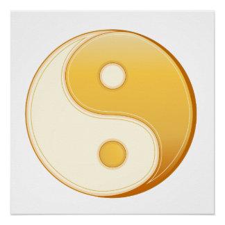 Taoism Symbol Poster