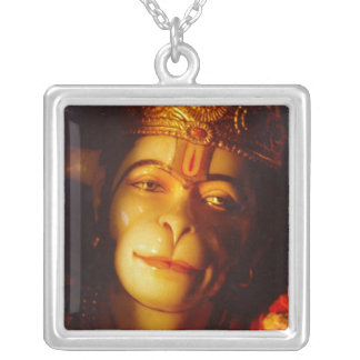 TAOS%20Hanuman%20clsoeup Silver Plated Necklace