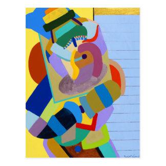 """Taos Dancer"" by Ruchell Alexander Postcard"