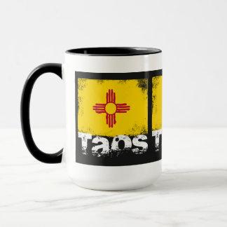 Taos Grunge Flag Mug