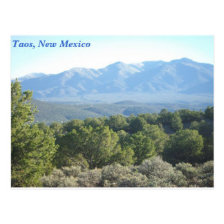 Taos, New Mexico Postcard