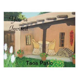 Taos Patio Landscape Announcement