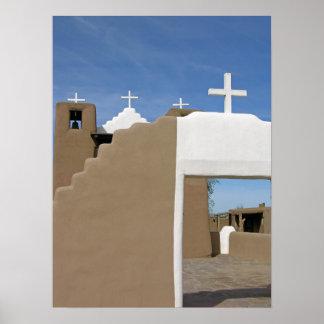 Taos Pueblo Church Poster