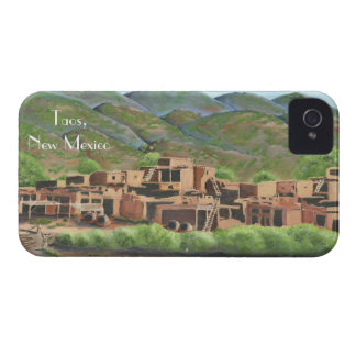 Taos Pueblo, New Mexico iPhone 4 Cover