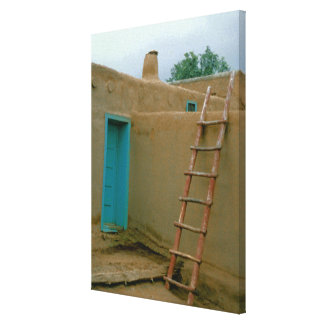 Taos Pueblo Photograph Canvas Print
