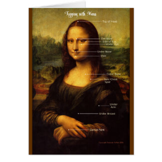 Tap Along with Mona Lisa customize your card