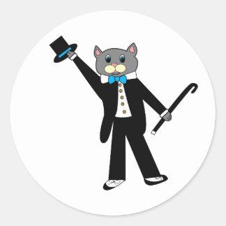 Tap Dance Cat Sticker