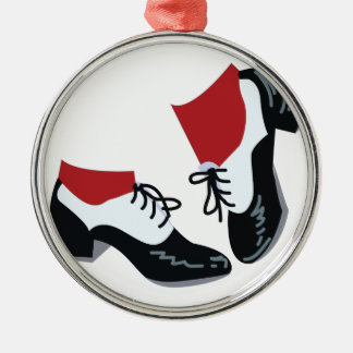 Tap Dance Metal Ornament