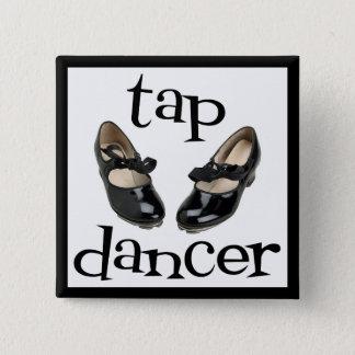 Tap Dancer Button