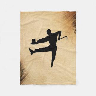 Tap Dancer Fleece Blanket