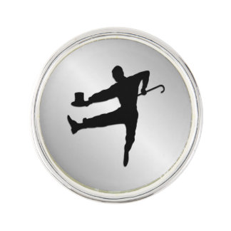 Tap Dancer Lapel Pin