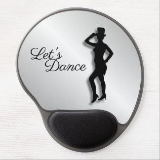 Tap Dancer Let's Dance Gel Mouse Pad