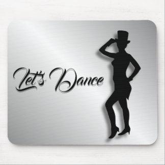 Tap Dancer Let's Dance Mouse Pad
