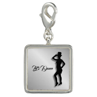 Tap Dancer Photo Charm