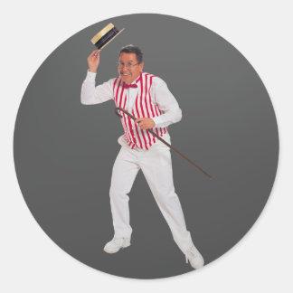 Tap Dancer Round Sticker