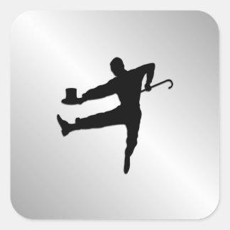 Tap Dancer Square Sticker