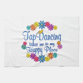 Tap Dancing Happy Place Kitchen Towel