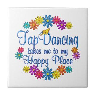 Tap Dancing Happy Place Tile