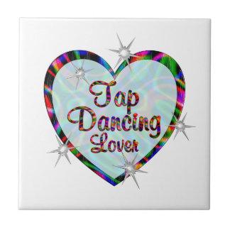 Tap Dancing Lover Ceramic Tile