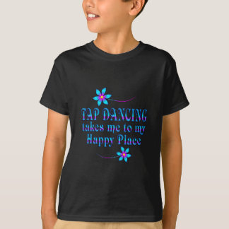 Tap Dancing My Happy Place T-Shirt
