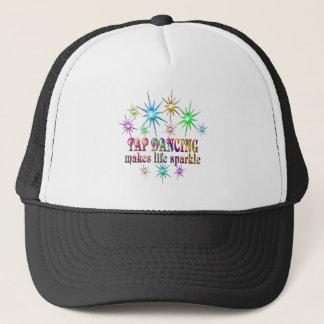 Tap Dancing Sparkles Trucker Hat