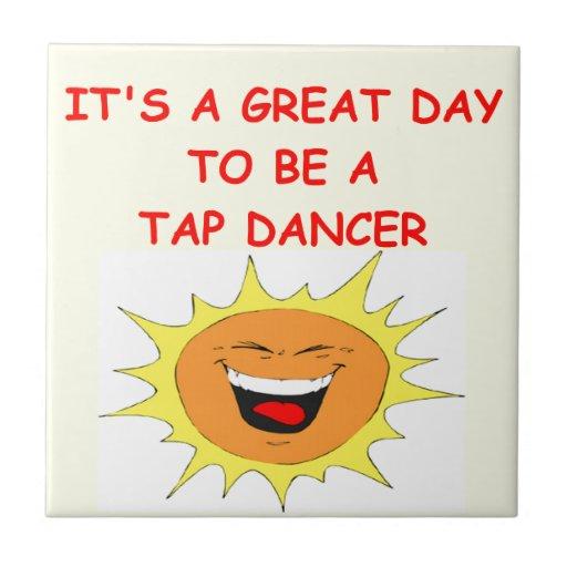 tap dancing ceramic tile