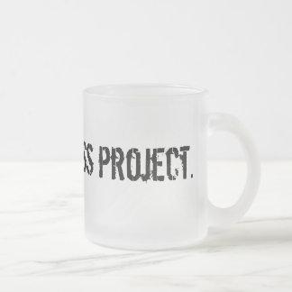TAP. logo frosted mug
