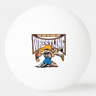 Tap Out Wrestlers Ping Pong Ball