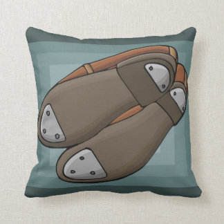 Tap Shoes Throw Pillow
