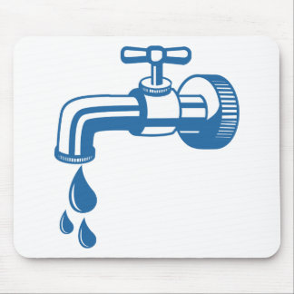Tap Water Mouse Pad