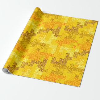 Tapa Tuesday - yellow Wrapping Paper