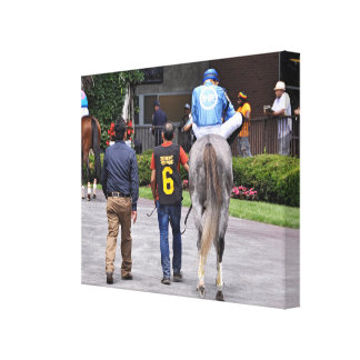 Tapceptional - Iron Horse Racing Canvas Print
