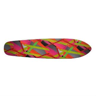 Tape Art Skateboard Decks