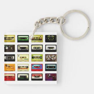 Tape Cassette Key Chain