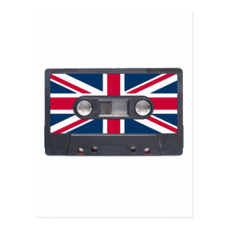 Tape cassette post card